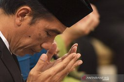 Presiden Jokowi ajak masyarakat berdoa bersama agar pandemi segera berakhir