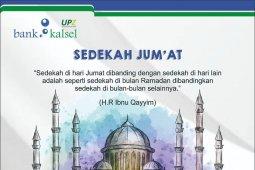 Bank Kalsel Syariah ajak nasabah sedekah hari Jumat