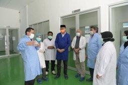 Plt Gubernur tinjau Laboratorium pemeriksaan spesimen virus corona di Aceh