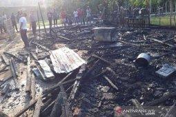 Satu unit rumah warga di Aceh Timur terbakar