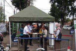 BPJS Kesehatan Cabang Jambi pasang tenda khusus layanan informasi