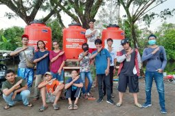 Melihat kepedulian pemuda Rasau Jaya Umum cegah penularan COVID-19