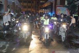 Polresta dan Kodim 0606 Kota Bogor patroli cegah COVID-19