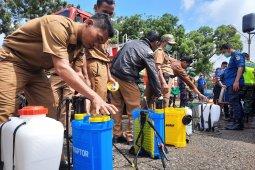 Pemerintah Kota Jambi lakukan penyemprotan disinfektan bangunan