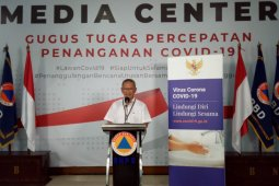 Gugus Tugas: 790 pasien positif dan 58 meninggal dunia kasus COVID-19