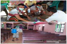 Masyarakat Tantom Angkola 'perang' melawan COVID-19
