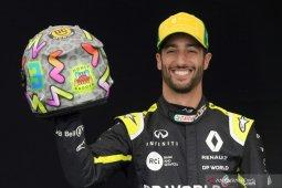 Pebalap Australia  Ricciardo gunakan isolasi sebagai kamp pelatihan di kala pandemi