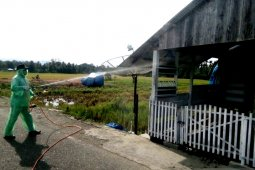 Warga Nagan Raya mulai gunakan dana desa cegah pandemi COVID-19