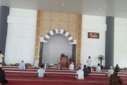 Masjid Agung Mukomuko tetap gelar shalat Jumat