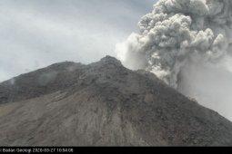 Gunung Merapi meletus dengan ketinggian kolom asap 5.000 meter