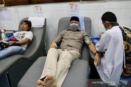 Gubernur ajak masyarakat donor darah dampak menipisnya persediaan