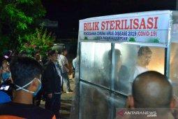 Wali Kota pimpin sterilisasi cegah COVID-19 di Padangsidimpuan