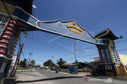 Foto - Suasana di Kabila-Bonebol lengang untuk hindari virus corona