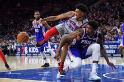 Pemain NBA Christian Wood sudah tak lagi terpapar virus corona