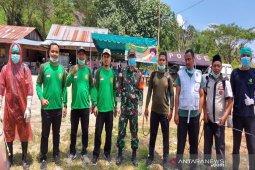 Cegah penyebaran COVID-19, PD Muhammadiyah Madina bantu petugas posko perbatasan