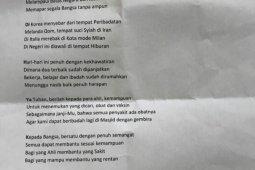 Jusuf Kalla tulis puisi soal COVID-19