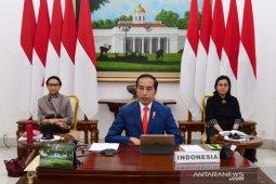 Pandemi COVID-19, Jokowi minta kepala daerah lebih tegas cegah warga mudik