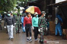 Satgas-SKPD semprot disinfektan ke berbagai objek vital kota Pelaihari