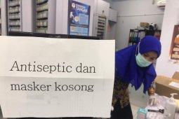 Masker dan hand sanitizer masih kosong di Gorontalo