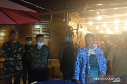 Forkopimda Belitung bubarkan kerumunan massa antisipasi virus COVID-19