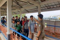 Satgas penanggulangan COVID-19 cek penumpang di Pelabuhan Tanjungkalian Mentok