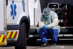 Kematian virus corona di Prancis tembus angka 4.000 lebih