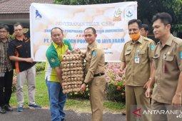 Bupati Bangka apresiasi penyaluran 65.200 butir telur