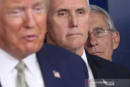 Donald Trump kembali negatif corona setelah tes kedua dengan proses cepat