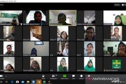 Social distancing, Direktur Polbangtan Medan pimpin rapat secara online