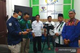 Doa bersama di udara dari Martapura untuk Nusantara