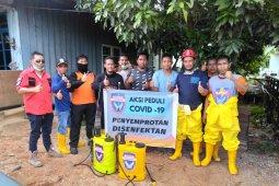 Relawan Banda Balikpapan turut bertempur melawan COVID-19.
