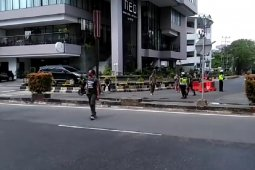 Penutupan Jalan Gajah Mada mulai diberlakukan