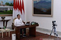 Presiden Jokowi minta Mendagri tegur kepala daerah yang tutup jalan