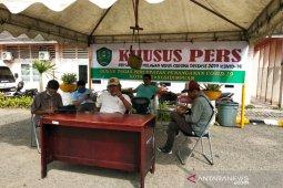 Menjaga Informasi akurat terkait COVID-19, Pemkot Padangsidimpuan dirikan tenda wartawan