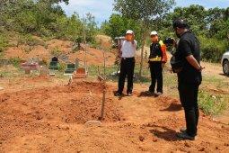 TPU Air Sebakul disiapkan jadi pemakaman positif COVID-19 di Bengkulu