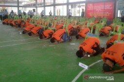 82 warga binaan Lapas Curup dinyatakan bebas