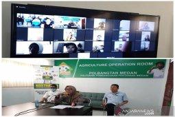 Kostratani Polbangtan Medan - Kostrada Tapteng teleconference terkait pertanian