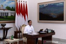 Presiden Jokowi: Napi korupsi tidak dibebaskan karena COVID-19