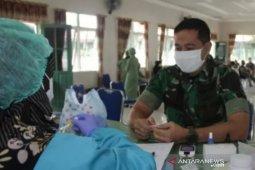 Kodim 1008/Tanjung gelar donor darah bantu PMI saat stok darah berkurang