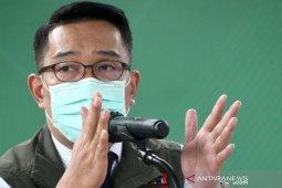 Gubernur Jabar minta warga sehat pakai masker kain saat beraktivitas