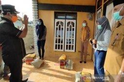 569 orang isolasi mandiri terima bantuan sembako dari Pemkab Aceh Jaya