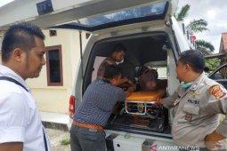Pembunuh ibu kandung di Subulussalam dibawa ke RSUD Aceh Selatan