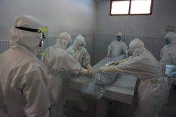Gugus Tugas Aceh Tengah gelar simulasi penanganan jenazah COVID-19