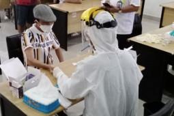 Gugus tugas Gorontalo telah melakukan tes cepat 12.634 orang