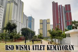 1.066 Pasien isolasi mandiri huni Tower 5 Rumah Sakit Wisma Atlet