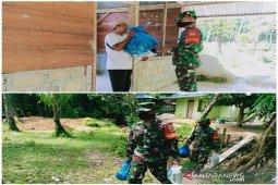 Sepi peziarah, penjaga makam Papan Tinggi dapat bantuan dari Kodim 0211/TT