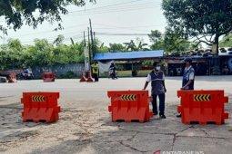 Dishub tutup terminal bus di Karawang