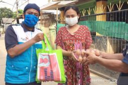 TBIG ikut bagikan bantuan warga terdampak pandemi COVID-19