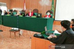 Kurir narkoba asal Riau divonis 20 tahun penjara