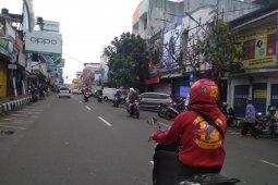 Jalan protokol Kota Sukabumi  diterapkan one way cegah keramaian